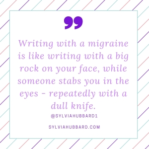 writing with a migraine