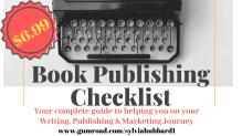 Book Publishing Checklist Cover design 3